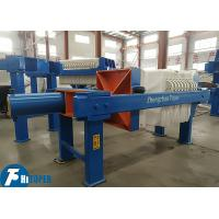 Best 4m2 Semi Automatic Filter Press With Reinforced Polypropylene Plates wholesale