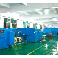 Buy cheap Power Saving Copper Wire Machine Cable Manufacturing Equipment Customized Color from wholesalers