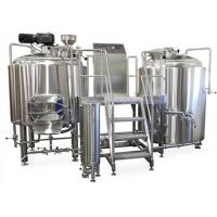 Buy cheap Manual Or Semi - Automatic 2 Vessel Brewhouse Wort Fermentation Function from wholesalers