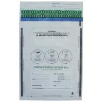 Buy cheap Transperant And Opaque Co - Extrusion Security Tamper Evident Deposit Bag For from wholesalers