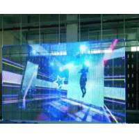 Best Small Space Transparent Glass LED Display Easy Installation With Stable Performance wholesale