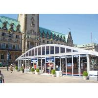 Buy cheap Arch Roof Trade Modular Glass Wall Commercial Tent With 15 Years Long Life Span from wholesalers