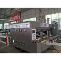 Best Speed 80pcs/Min Automatic Flexo Printing Machine Electrical Slotter For Carton Box wholesale