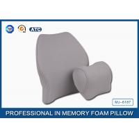 Quality Soft Memory Foam Car Travel Pillow Filling Breathable with Deluxe Pillowcase wholesale