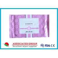 Quality Disposable Organic Smooth Feminine privateparts Hygiene Wipes With Fresh Scent wholesale
