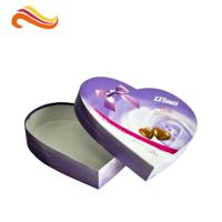 Best Heart-Shape Lecote Chocolate Gift Packaging Boxes With Food Grade Printing , 157G Coated Paper Boxes wholesale