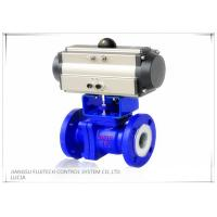 Best Floating 2 Inch Motorized Ball Valve , Two Piece Type Double Acting Cylinder Control Valve wholesale