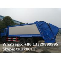Quality best price dongfeng 6*4 16m3 garbage compactor truck for sale, hot sale dongfeng 210hp 16cbm compacted garbage truck wholesale