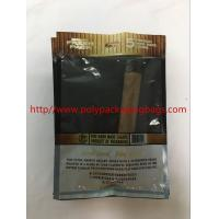 Best Custom Moisturizing Cigar Bag / Plastic Cigar Wet Bag W130 X L220mm Size wholesale