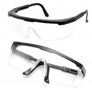 Best Adjustable Medical Safety Goggles , Surgical Safety Glasses UV Resistant wholesale