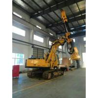 Best Bored Pile Driver Hire , Driven Piles Construction Hydraulic Rig Machine 6.1T Total Weight wholesale