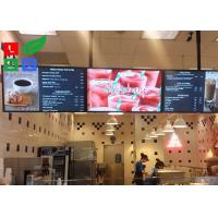 Best 42 Inch LCD Advertising Display Monitor WiFi Control For Shop Menu Image Display wholesale