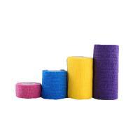 China Medical Self Adhesive Bandage Sport Tape Non woven Cohesive Elastic Bandage for sale