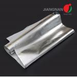 China ALFW600 High Performance Insulation Aluminum Foil Laminated Fiberglass Fabric for sale