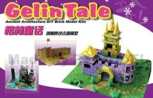 Cheap DIY Layout Castle Model Kits for sale