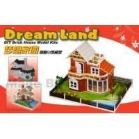Best DIY Layout Brick House Model Kits wholesale