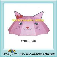 "Best 18"" Manual New Kitty Cat Umbrella wholesale"