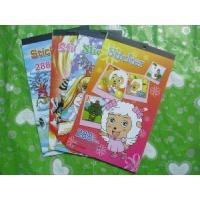 Best children sticker book printing educational sticker book comic adhesive sticker book wholesale