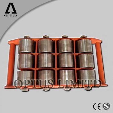 Cheap carrying roller cargo trolley moving skate for sale