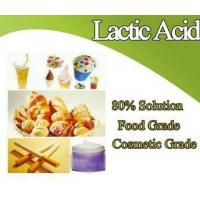 China High Quality Food Grade Lactic Acid on sale