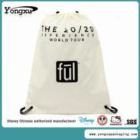 Best white drawstring beach bags(TB4-1) wholesale