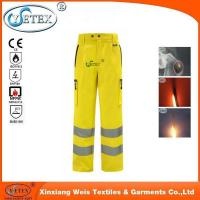Best Safety workwear Ysetex hi vis yellow high quality mens reflective pants wholesale