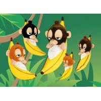Buy cheap Apes SLEEPY Banana Monkeys from wholesalers