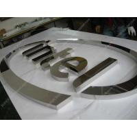 Buy cheap polished stainless steel sign letters 08 from wholesalers