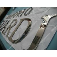 Buy cheap solid stainless steel letters 02 from wholesalers