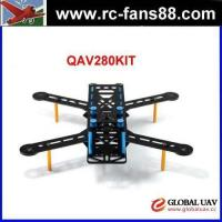 Best FC QAV280 Carbon Fiber 4-Axle FPV Quadcopter Frame Kit 4-Axle RC drone fixed wing uav wholesale