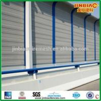 Buy cheap acoustic fencing perforated acoustic sound barrier from wholesalers