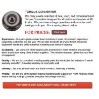 Best Torque Converters for Forklifts wholesale