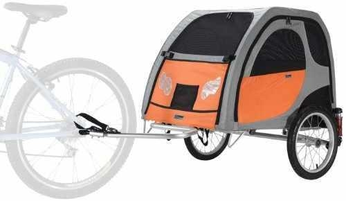 "Cheap PetEgo Comfort Wagon Dog Bike Trailer WITH SUSPENSIONS- Large - 35""L x 26""W x 24""H for sale"