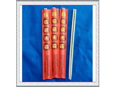 "Cheap 9""Round bamboo chopsticks with red envelope for sale"