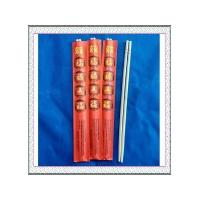 "Quality 9""Round bamboo chopsticks with red envelope wholesale"