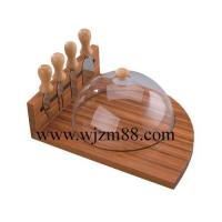 Best CBQ020 Unique design bamboo cheese board set wholesale