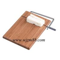 Best CBQ015 Bamboo cheese board with knife wholesale