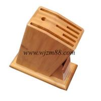 Best SB112 Latest design bamboo kitchen knife holder wholesale