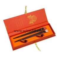 Quality LH-135 Japanese chopsticks with gift box wholesale