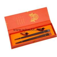 Quality LH-136 2 Pairs Japanese chopsticks with gift box wholesale