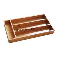 TP014 Wholesale bamboo cutlery box