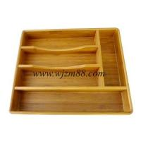 SB084 High quality bamboo cutlery box