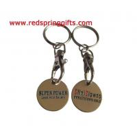 Best TC-008 cheap promotional trolley coin with custom logo wholesale