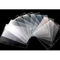 Buy cheap Lenticular Lens Sheet 161 lpi lenticular lens film 0.25mm pet 3d sheet from wholesalers