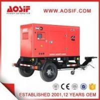 Buy cheap AOSIF 60kva mobile generator power by Cummins engine from wholesalers