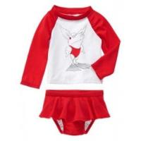 Buy cheap Red olivia 2pc rashguard set from wholesalers