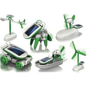 Cheap DIY 6 in 1 KIT Solar toys for sale