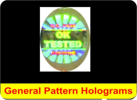 Cheap General Pattern Hologram for sale