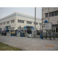 Best Double tanks waste PET, PP, HDPE Recycle pelletizing Plastic Granulating Machine wholesale