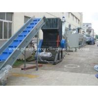 Best PP PE film washing, washing, drying line Waste Plastic Recycling Machine wholesale
